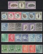 1953  QEII   full set + variations  (27)